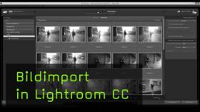 Bilder nach Lightroom importieren