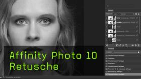 Beautyretusche in Affinity Photo