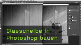 Halbtransparente Objekte in Photoshop bauen