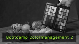 Bootcamp Colormanagement