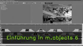Livevortrag mit m.objects
