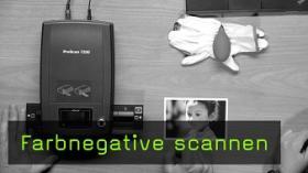 Farbnegative scannen