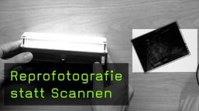 Reprofotografie statt Scannen