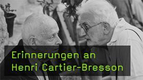 Der französiche Fotograf Henri Cartier-Bresson im Portrait