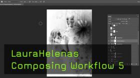 Composing Workflow von Laura Helena, Iron Man, Verlaufsumsetzung