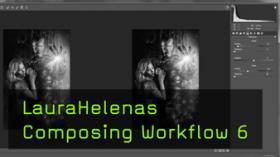 Composing Workflow von Laura Helena, Iron Man, Camera Raw