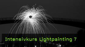 Lightpainting mit Stahlwolle
