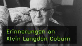 Alvin Langdon Coburn im Portrait