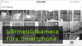 Wärmebildkamera fürs Smartphone