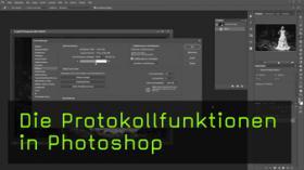 Photoshop-Protokoll nutzen
