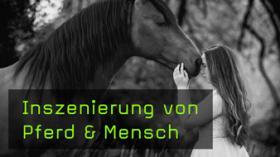 Pferd mit Mensch fotografieren