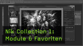 Nik Collection 1: Module & Favoriten