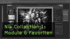 Nik Collection 1: Module & Favoriten