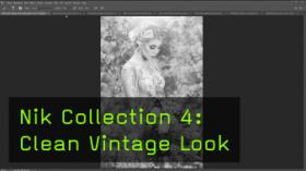 Nik Collection 4: Clean Vintage Look