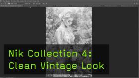 Nik Collection 4: Clean Vintage Look