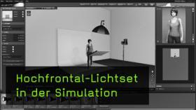 hochfrontales Lichtset in set.a.light 3D