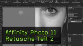 Restaurierung und Frequenztrennung in Affinity Photo