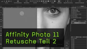 Restaurierung und Frequenztrennung in Affinity Photo