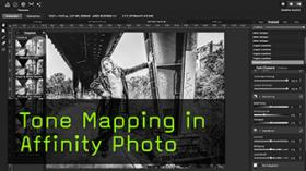 Tone Mapping in Affinity Photo