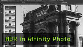 HDR in Affinity Photo