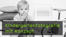 Kindergartenfotografie mit Konzept