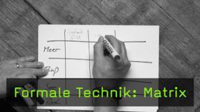 Formale Technik: Matrix