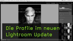 Die neuen Profile in Lightroom CC 7.3