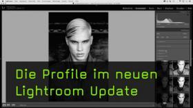 Die neuen Profile in Lightroom CC 7.3