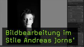 Portraitfotografie Bildbearbeitung mit Andreas Jorns