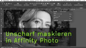 Bilder schärfen mit Affinity Photo