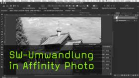 SW-Umwandlung in Affinity Photo