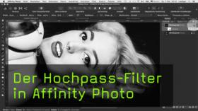 Der Hochpass-Filter in Affinity Photo