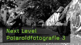 Kreative Polaroidfotografie outdoor