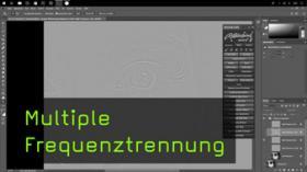 Bildbearbeitung mit Multipler Frequenztrennung