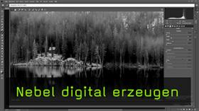Digitalen Nebel in Photoshop erstellen