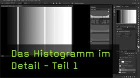 Histogramm in Photoshop
