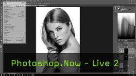 Zweite Livesendung: Photoshop-Techniken kennenlernen
