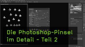 Die Pinseleinstellungen in Photoshop CC