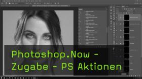 Photoshop Aktionen für die Portrait Retusche