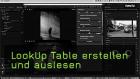 Lookup Table in Lightroom und Photoshop auslesen