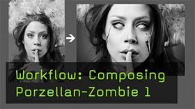Portrait Composing zum Zombie