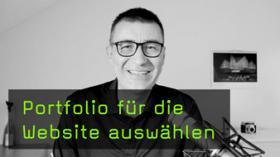 Portfolio auf der eigenen Website integrieren