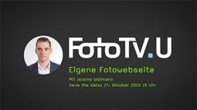 FotoTV.U Livesendung zum Thema WordPress