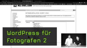 Die eigene Webseite registrieren und WordPress installieren