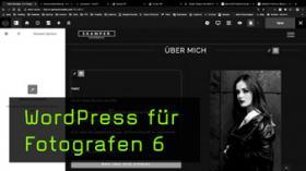 Textbearbeitung und Medienverwaltung in WordPress