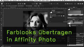 Farblooks in Affinity Photo definieren und anwenden