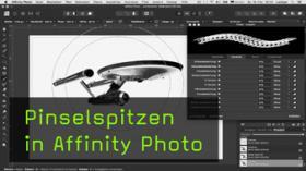 Pinselspitzen in Affinity Photo