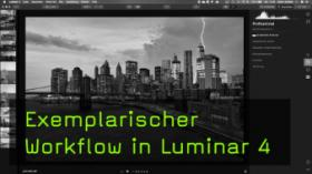 Bearbeitungs-Workflow in Luminar 4