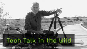Raik Krotofil zeigt sein Fotoequipment für Landschaftsfotografie