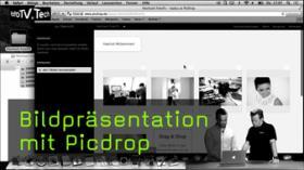 Bildpräsentation mit Picdrop